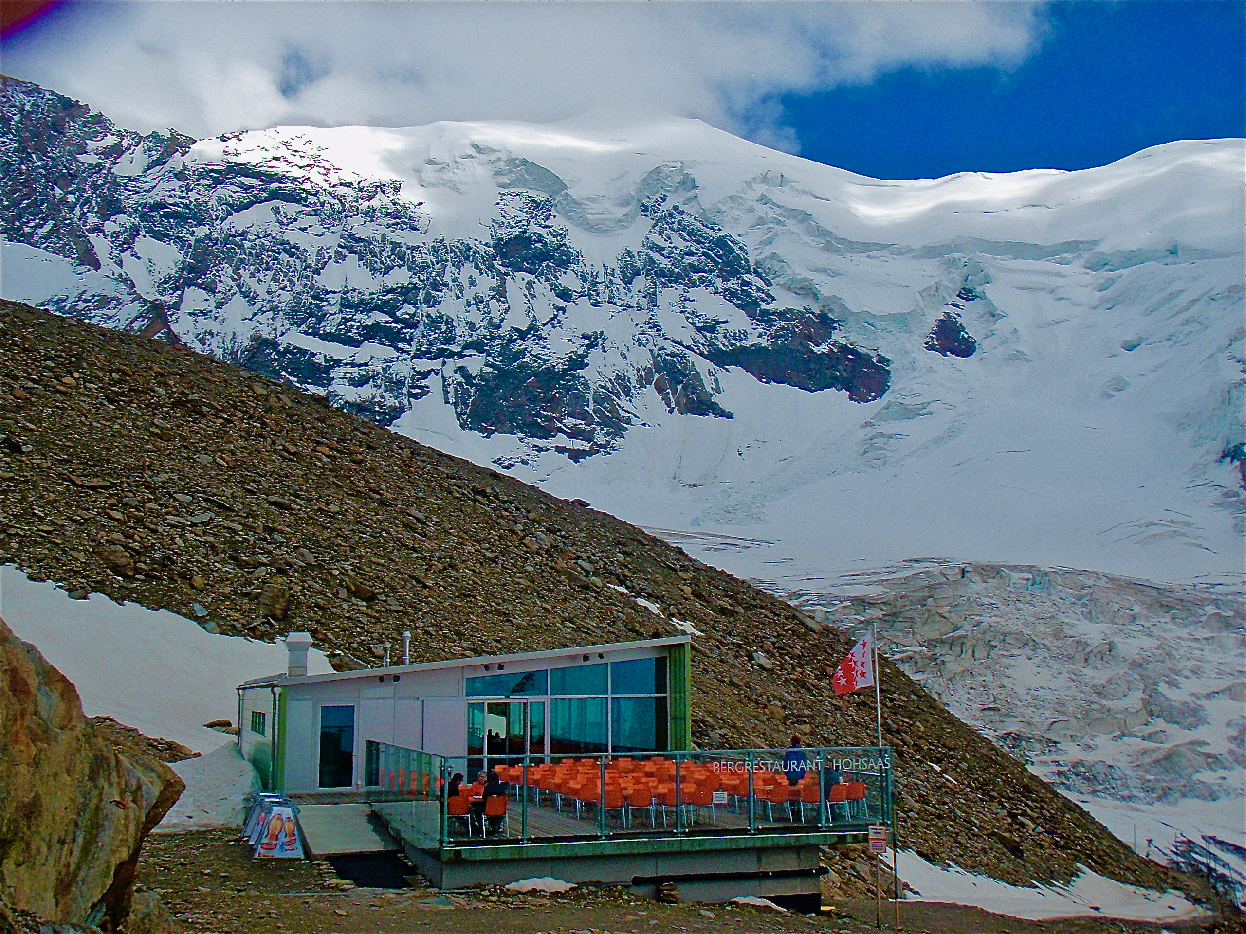 Hohsaashütte, 3142 mètres