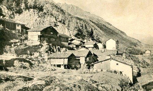 Le hameau de Giétroz