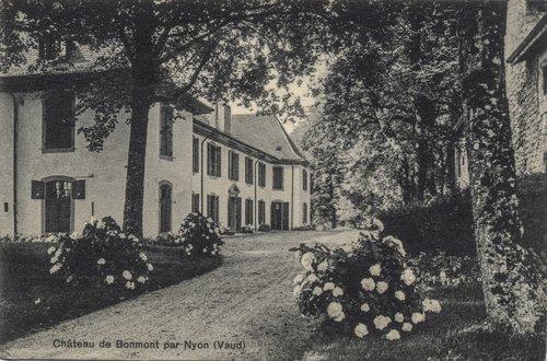 Château de Bonmont dans les années 1900