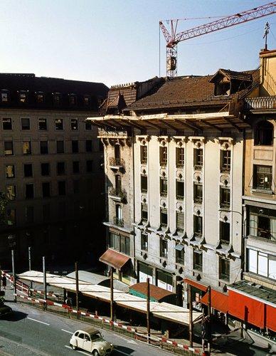 Genève, démolition de l' Uniprix