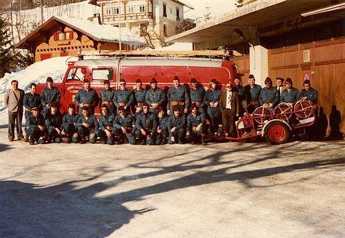Famille André, les pompiers de St-Cergue