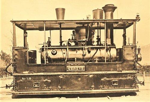 Locomotive du Genève - Veyrier