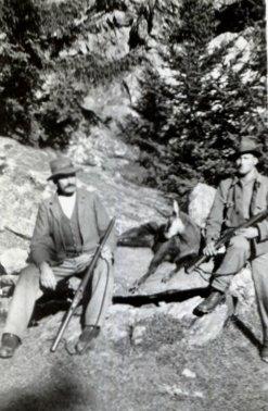 Chasseurs dans le Haut Val de Bagnes