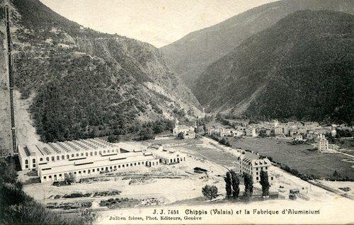 L'usine d'aluminium de Chippis (1908 - 2018)