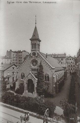Lausanne église des Terreaux