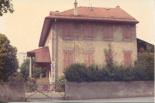 Carouge  La maison des Charmettes