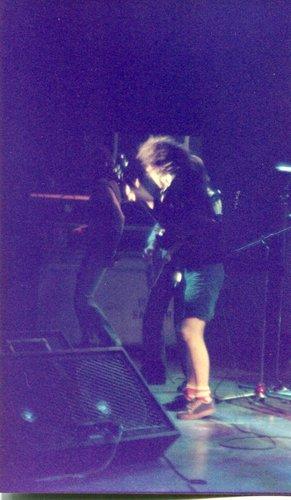 Concert du groupe AC/DC , salle de fêtes de Thônex