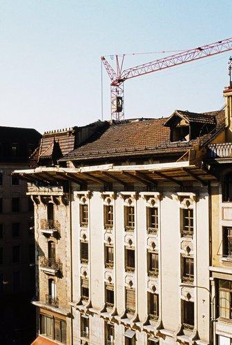 Genève, démolitionde l'Uniprix