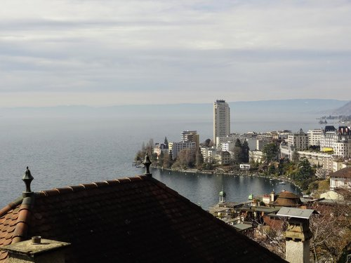 Point de vue sur Montreux