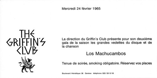Los Machucambos - Invitation Gala at The Griffin's Club