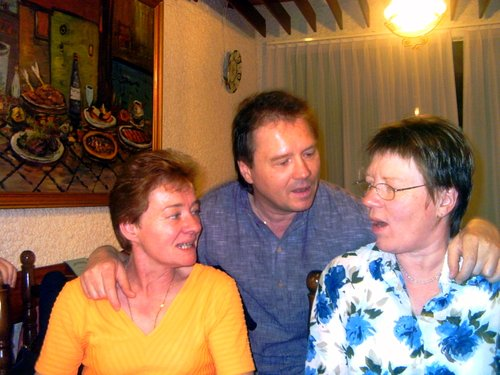 Le 50e anniversaire de ma sœur Françoise