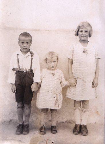 Un trio des années 30