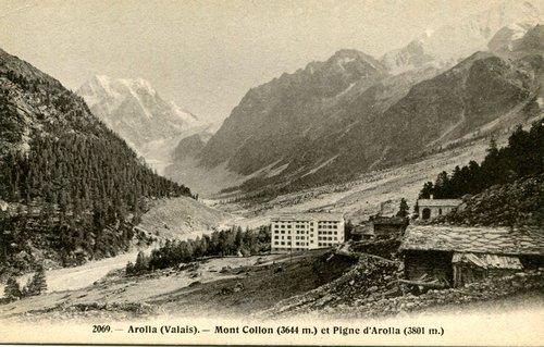 Arolla, la chapelle