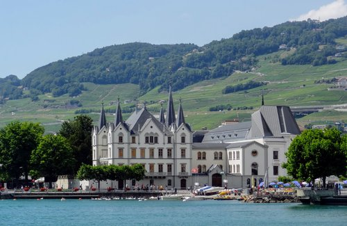 Vevey - Château de l'Aile