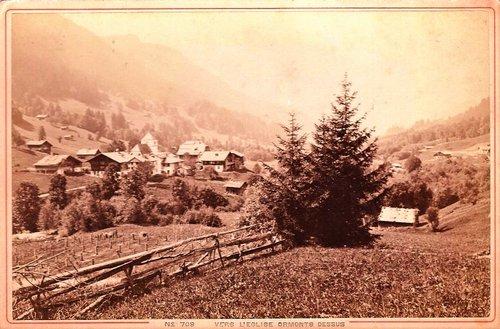 Vers l'Eglise, vallée des Ormonts