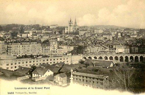 Lausanne, le grand pont