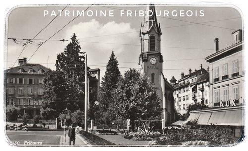 Fribourg - Place du temple