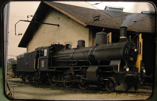 Locomotive à vapeur B 3/4 N: 1367
