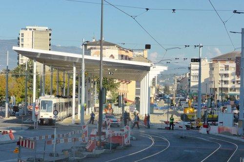 Genève, l'arrêt de Moillesulaz