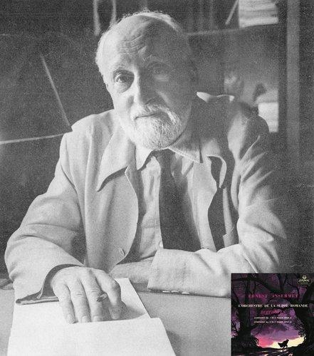 L. van BEETHOVEN, Symphonie No 8, OSR, Ernest ANSERMET, mai 1956, MONO