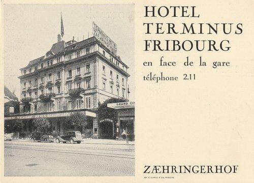Hôtel Terminus Fribourg