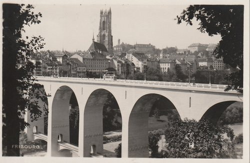 Fribourg - Pont de Zaehringen