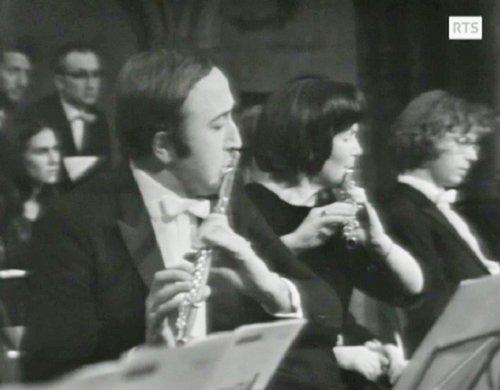 Pierre WAVRE et Brigitte BUXTORF, 2 mars 1973, Cathédrale de Genève, Magnificat de Bach avec Michel Corboz