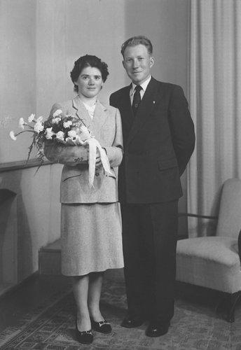 Mariage de mes parents 1953