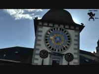 L'horloge astronomique de l'hôtel de ville de Sion