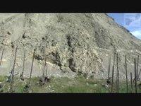 Eboulement de Sierre - Histoire des collines de Finges à Grône