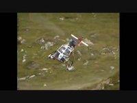 Démonstration de l'hélicoptère Lama par Bernd van Doornick