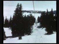 Le ski gonflé