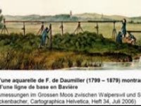 MISEREZ Jean-Claude - Antoine-Joseph Buchwalder, un cartographe exemplaire