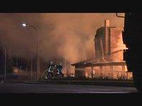 Incendie d'une menuiserie à Bramois/Sion