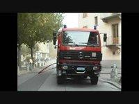 Incendie en ville de Sion le 19 octobre 2006