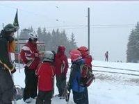 Le ski aux Pléiades