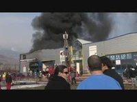 Incendie à Sion - 12 février 2010