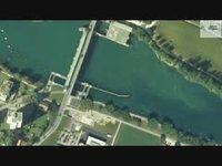 Croisière sur l'Aar, de Bienne à Soleure - Ecluse de Port