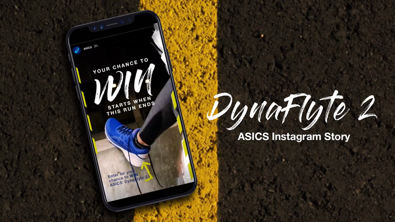 ASICS® TAP TO FLY CHALLENGE-support