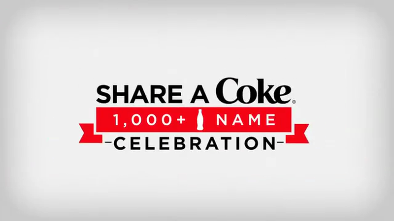 Share a Coke 1,000 Name Celebration-support