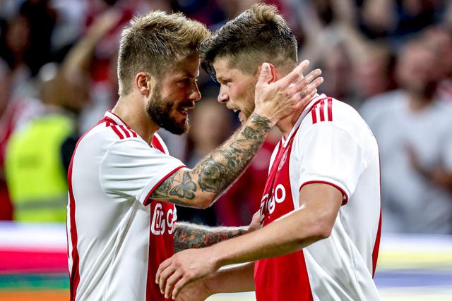 Lasse viert een jubileum: zijn vijftigste Europese wedstrijd namens Ajax