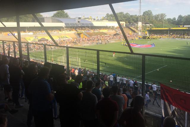 De Koel is een vrij apart, maar daardoor wel authentiek stadion
