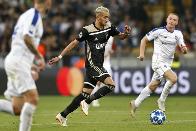 Ziyech is opnieuw het belangrijke Dreh- und Angelpunkt van Ajax