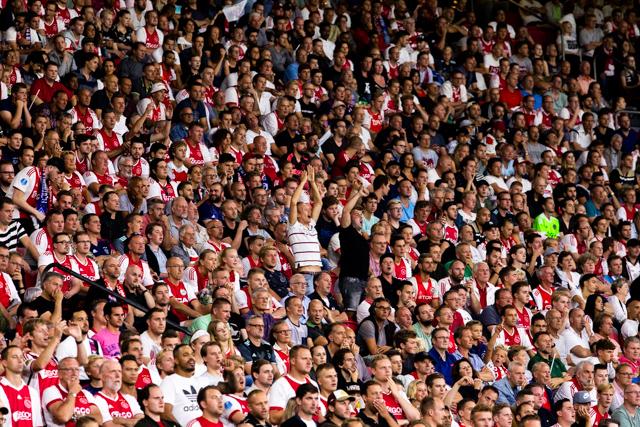 Het is heerlijk om erbij te zijn wanneer Ajax aantreedt in Europa