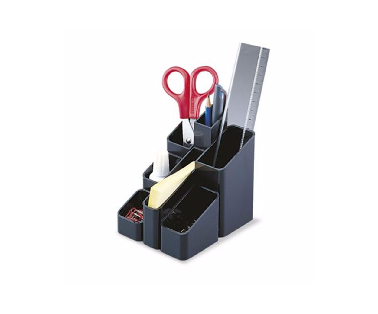 Black Desktop Organiser