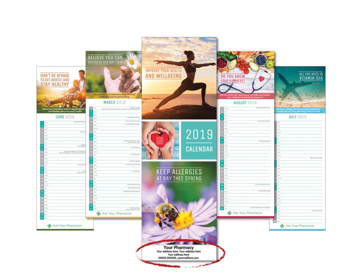 2019 Personalised Calendars