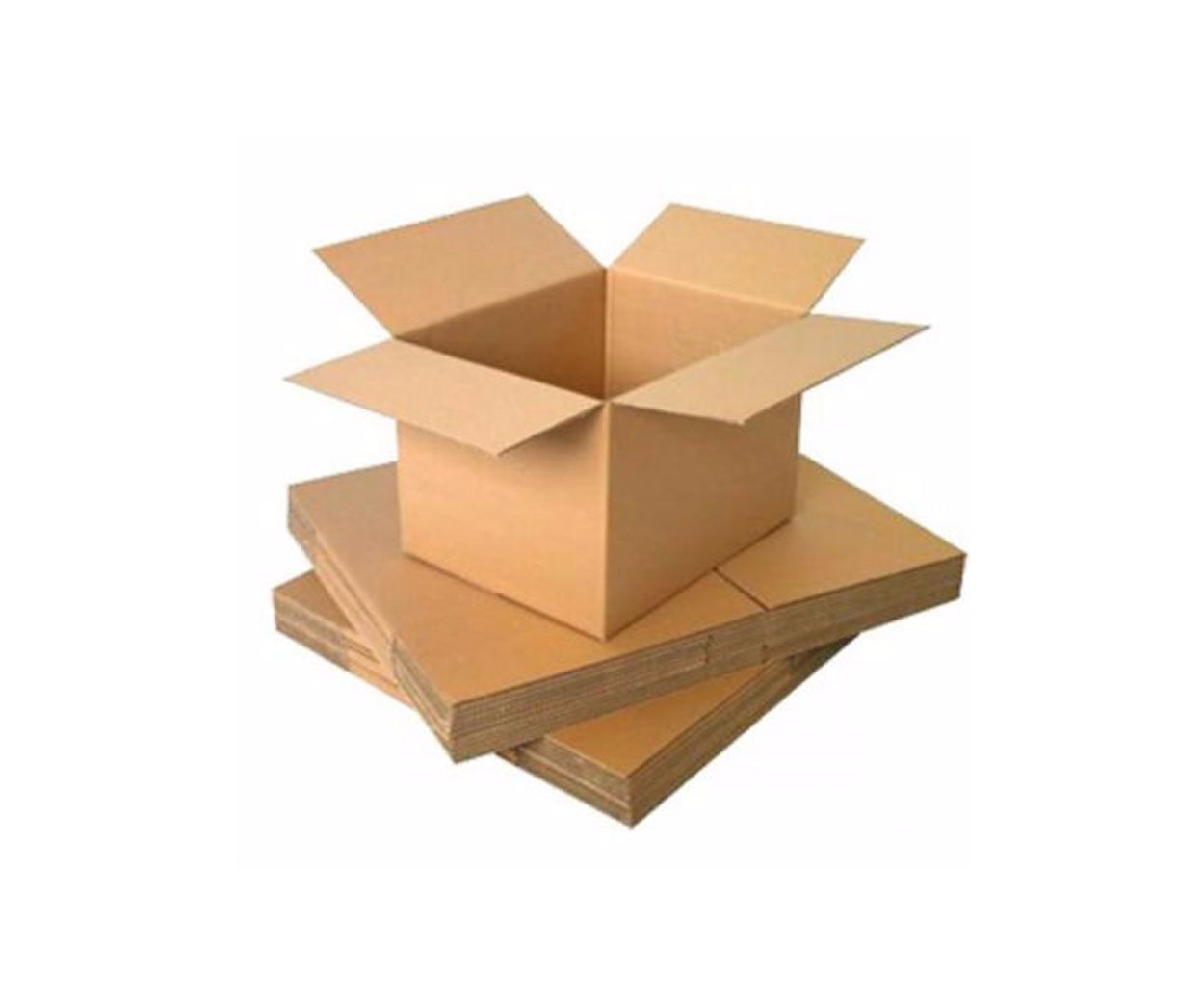 LYRECO SINGLE WALL CARD BOARD BOX 381x254x254MM