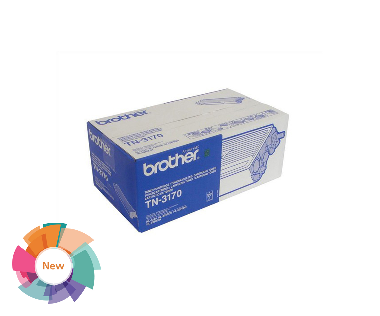 Stationery Clearance - Brother TN3170 Toner Cartridge