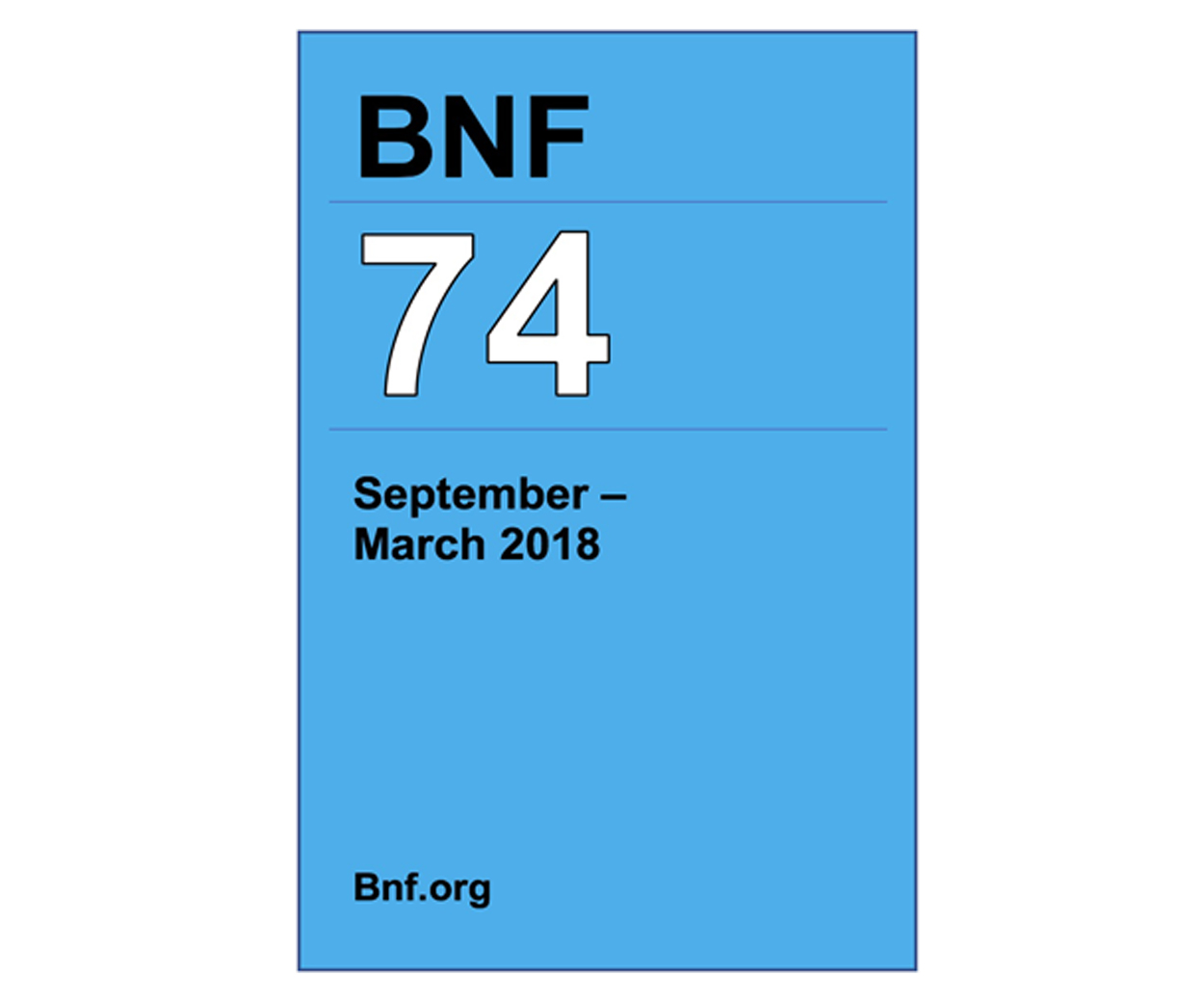 BNF 74 (British National Formulary)