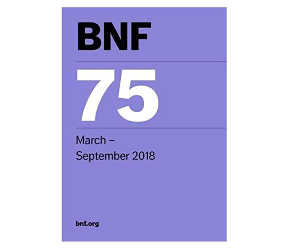BNF 75 (British National Formulary)